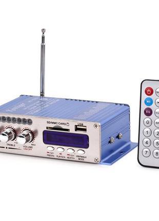 Hi-Fi усилитель в авто VA-502R, USB SD CD FM MP3 плеер, 100090