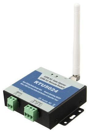 GSM контроллер управления замком, шлагбаумом, RTU5024, 103220