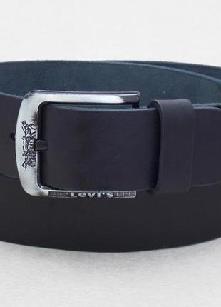 Кожаный мужской широкий ремень для джинс levis 501