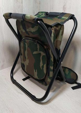 Стул складной рюкзак ST-11 Камуфляж