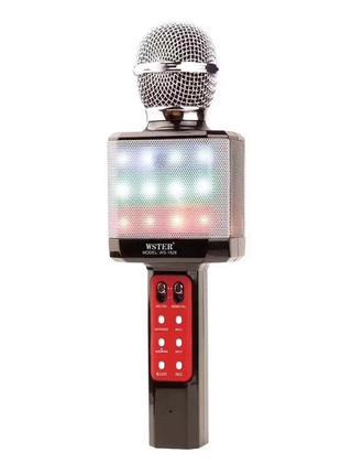 Микрофон-караоке беспроводной WSTER WS-1828 Original черный