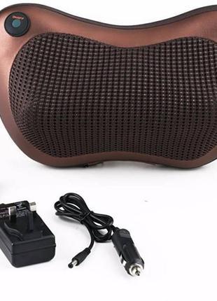 Массажная подушка для шеи дома и в автомобиль Car Massage Pillow
