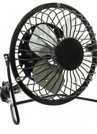 Вентилятор настольный Sanhuai Mini Fan USB A18 Черный