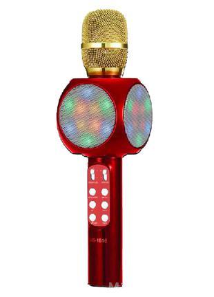 Микрофон-караоке Wster WS-1816 Красный