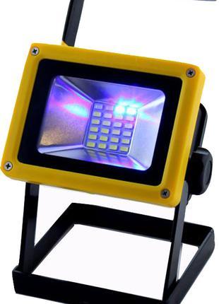 Прожектор фонарь светодиодный на аккумуляторах Flood Light Out...