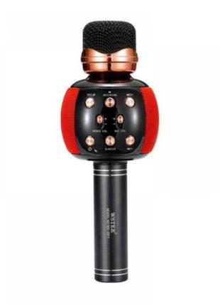 Микрофон-караоке с динамиком Wster WS-2911