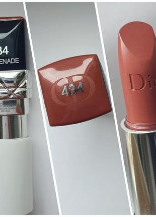 Помада dior rouge dior couture colour 434 - promenade