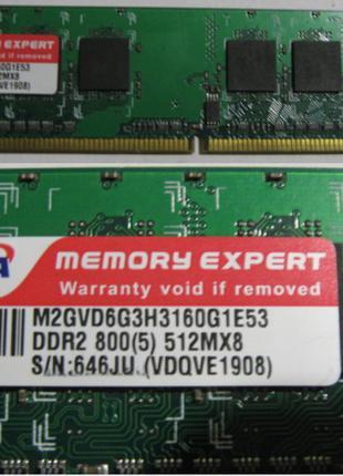 Планка памяти DDR2-800 PC-6400 512 Mb Цена-50 грн