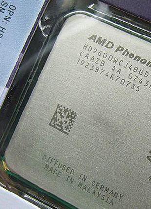МОЩНЫЙ Процессор AMD SAM2, Am2+, AM3 PHENOM X4 9600 - 4 ЯДРА (...