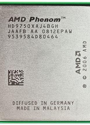 Процессор AMD sAM2, Am2+, PHENOM X4 9750 - 4 ЯДРА ( 4 по 2.4 G...