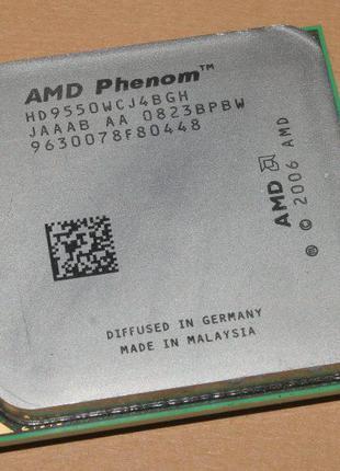 МОЩНЫЙ Процессор AMD SAM2, Am2+, AM3 PHENOM X4 9550 - 4 ЯДРА (...