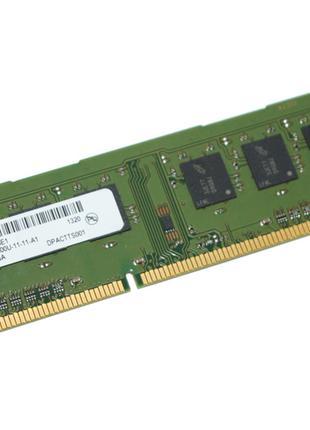 Оперативная Память DDR3 на 4GB PC3-12800 1600 Mhz MICRON Б/У п...