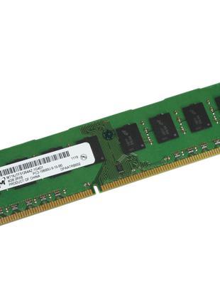 Оперативная Память DDR3 на 4GB PC3-10600 1333 Mhz MICRON Б/У п...