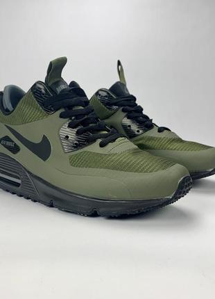 Теплые кроссовки nike air max 90 mid winter