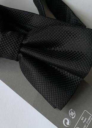 Текстурный галстук бабочка h&m !