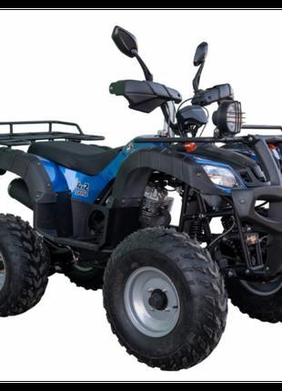 Квадроцикл SP250-4 (колір - чорний, синій) / SP250-4 camo (кол...