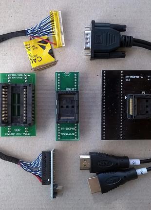 Адаптеры для RT809H, TNM5000 - SOP44 / TSOP48 / TSOP56 / RT809