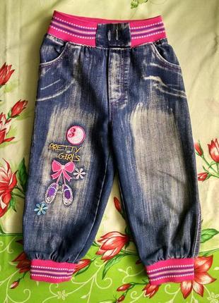 Джинсы для девочки 3-4 года
