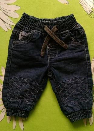 Джинсовые шорты для мальчика 1-2 года