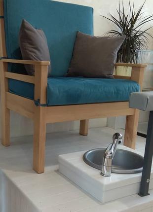Кресло для Педикюра. Место для Педикюра
