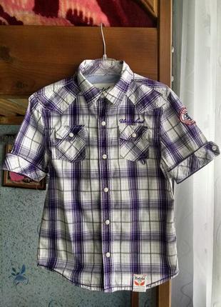 Рубашка,тенниска для мальчика 6- 8 лет.