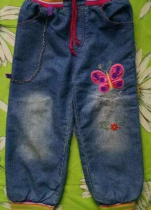 Джинсы для девочки 4-5 лет