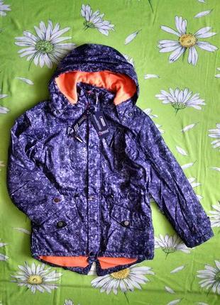 Новая, стильная куртка-парка для мальчика 11-12 лет