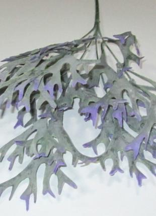 Куст искусственный Оленьи рога, сиренево-зеленый