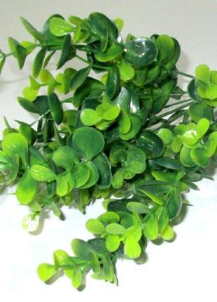 Куст искусственный 33 см, Эвкалипт зеленый