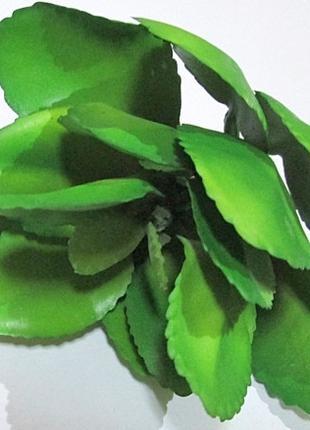 Суккулент искусственный 15*9 см, зеленый