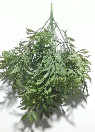 Куст искусственный 37 см, Тархун зеленый