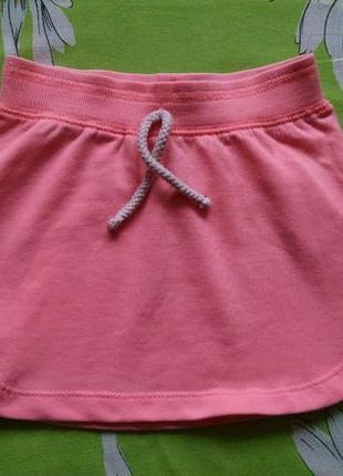 Спортивная юбка для девочки 2-3 года