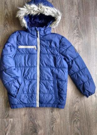 Зимняя-демисезонная куртка для мальчика 10-11 лет