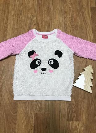 Кофта меховушка панда