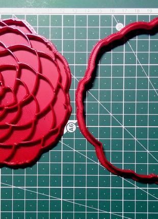 Камелия. Форма для печенья и пряников