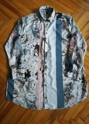 Рубашка, блуза, туника оверсайз