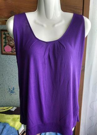 Красивая блуза,футболка с бабочкой на спине 46р