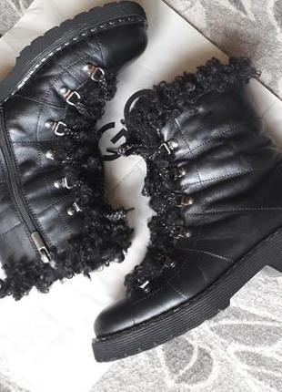 🥾 зимние ботинки натуральная кожа 🥾