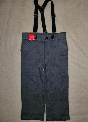 Штаны брюки на подтяжках