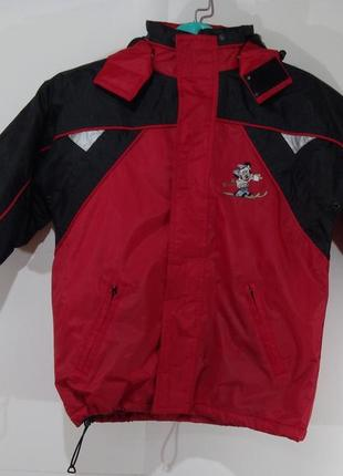 Детская спортивная куртка весна - осень размер 122