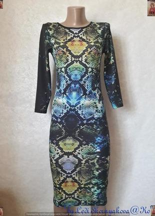"""Новое фирменное topshop платье-миди в принте """"кожа змея"""", разм..."""