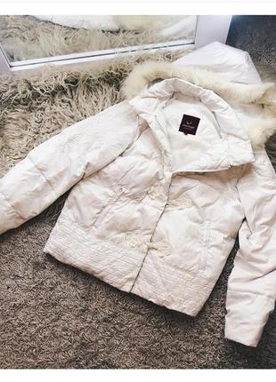 Зимняя куртка с мехом писца