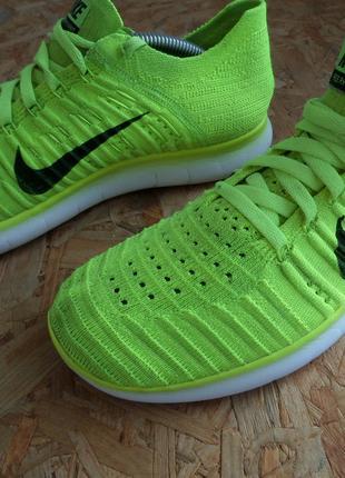 Кроссовки Nike Free RN Flyknit оригинал 39 размер-длина стельки-2