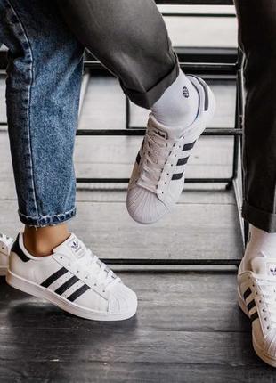 Унисекс кроссовки adidas superstar |адидас | размеры: 36-44