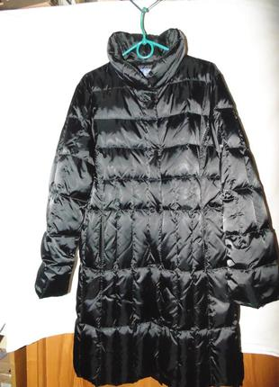 Пальто зимнее пуховик натуральный пух b.e italy оригинал новый