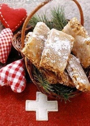 """Швейцарские печенья """"Лекерли"""""""