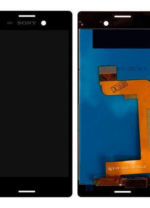 Дисплей Sony E2303 Xperia M4 Aqua LTE с тачскрином (Black) Ori...