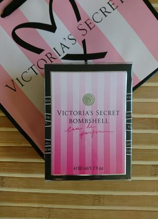Bombshell духи 50 мл victoria secret в подарочной упаковке