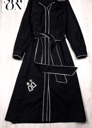 Платье рубашка бельевого стиля
