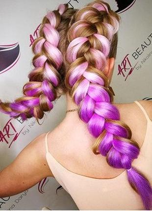 Канекалон коса омбре цветные пряди конекалон каникалон волос н...